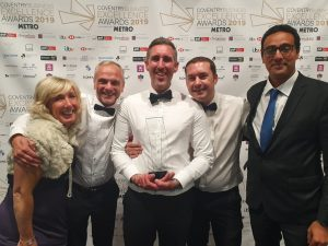 Business Excellence Awards - New Business of the Year - iSTORM Solutions